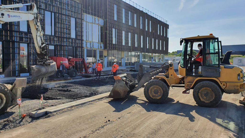 Arteparc Lille-Lesquin - immeubles tertiaires environnementaux